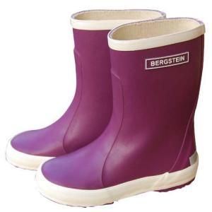 30%OFF セール BERGSTEINベルグステイン 長靴 PURPLE 17〜22cm レインブ...