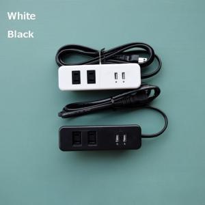 家具製作用埋め込みコンセント (2ツ口 + USB)