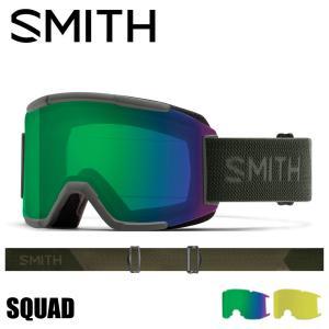 SMITH スミス SQUAD ゴーグル アジアンフィット 国内正規品 スノーボード スキー スカッ...