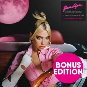 デュアリパ CD アルバム DUA LIPA FUTURE NOSTALGIA 2CD BONUS ...
