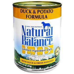 ナチュラルバランス Natural Balance  ダック&ポテトフォーミュラ ドッグフード 缶詰...