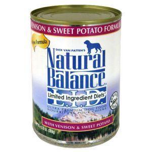 ナチュラルバランス Natural Balance  ベニソン&スウィートポテトフォーミュラ ドッグ...