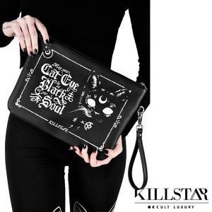 【即納】KILLSTAR / Cateye Makeup Bag クラッチバッグ|qooza-shop