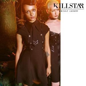 【即納】KILLSTAR キルスター Black-Ops Skater Dress [B] ワンピース|qooza-shop