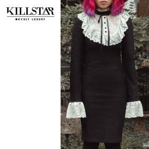 【即納】KILLSTAR キルスター Rosemary Midi Dress ワンピース|qooza-shop
