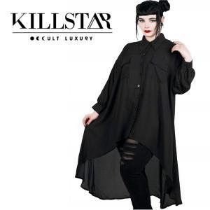 【即納】KILLSTAR キルスター Lusha Batwing Blouse ワンピース|qooza-shop