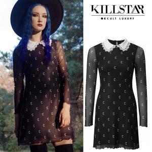 【即納】KILLSTAR キルスター Misty Collar Dress ワンピース|qooza-shop