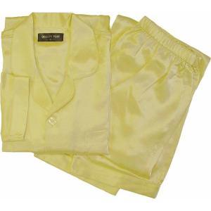100%シルク メンズパジャマ(シャンパンゴールド)|qplan