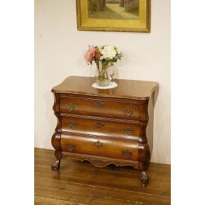 英国オランダ西洋アンティーク家具 オークチェスト 樫 ナラ材 8339 qs-antiques