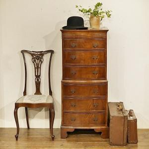 英国イギリスアンティーク家具 マホガニー材 チェストオンチェスト 8433 qs-antiques