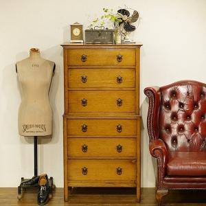 英国イギリスアンティーク家具 オーク材 チェストオンチェスト 樫 楢 8560 qs-antiques