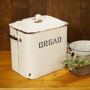 英国イギリスアンティーク雑貨 ホーロー(エナメル)ブレッド缶 8597|qs-antiques