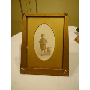 英国アンティーク 1920年代 フォトスタンド 写真立て S052|qs-antiques
