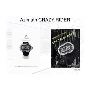 アジムート クレイジーライダー【Azimuth CRAZY RIDER】AZIMUTH腕時計|qtec-autoshop