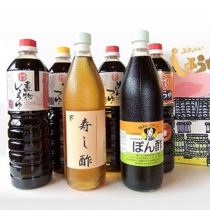 (福岡県朝倉市) 十文字醤油バラエティ6本セット|qtsuhanshop
