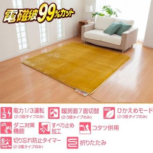 電気ホットカーペット 2畳タイプ カバー付|qtsuhanshop