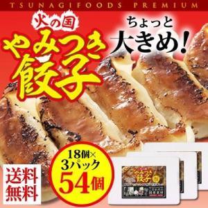 火の国やみつき餃子 18個入り3パック|qtsuhanshop