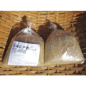 いのち塾 日向江戸米(自然米) 玄米2kg|qtsuhanshop