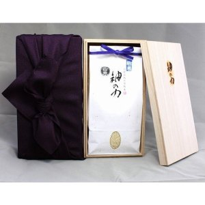 北村広紀の自然米「神の力」白米 コシヒカリ 1kg【無農薬玄米・無肥料米・自然農法】|qtsuhanshop