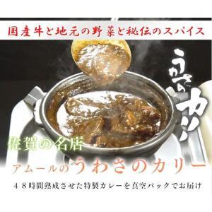 黒毛和牛と地元野菜を煮込んだアムールのうわさのカリー(真空パック6個入り)カレー|qtsuhanshop