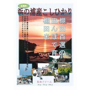 米 コシヒカリ お米 (30年産) 浜野浦棚田こしひかり 3kg|qtsuhanshop|07
