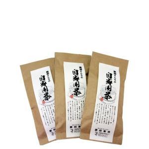 園部さんちの自家用茶 緑茶200g×3本|qtsuhanshop