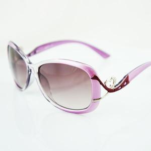 【女性用 レディース用】99%紫外線カットサングラス 小顔効果バツグン! 専用ケース付き|qualite21