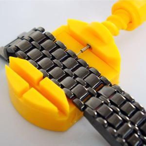 バンド用コマ外し器/腕時計金属ベルト調整工具|qualite21