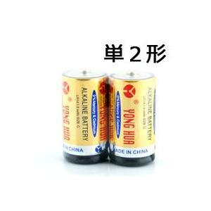 単2形乾電池×2本セット【バッテリー 防災グッズ 防災対策 災害用品 防災商品 非常用品 地震対策】|qualite21