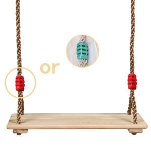 木製ブランコ 室内でも屋外でも遊べる遊具 ロープ付き 自作 ハンドメイド 庭 作り方 子供 カーポート|qualite21