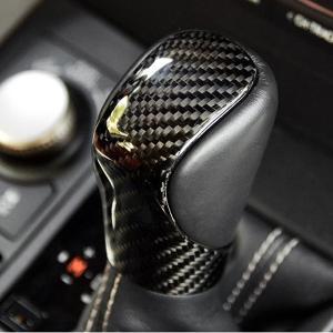 レクサス シフトノブカバー GS IS RC CT RX NX 専用設計 カーボン製 LEXUS アクセサリー 保護 ドレスアップパーツ 取り付け カスタム|qualite21