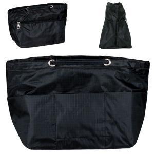 バッグインバッグ 大きめマチ付きで抜群の収納力 B5サイズ対応 軽いBag in Bag インナーバッグ ミニバッグ 旅行ポーチ|qualite21
