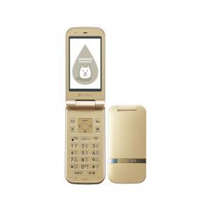 【新品 未使用品】利用制限〇 SoftBank PANTONE WATERPROOF 202SH Gold ゴールド [白ロム][折りたたみ][携帯][ガラゲー]|quality-shop