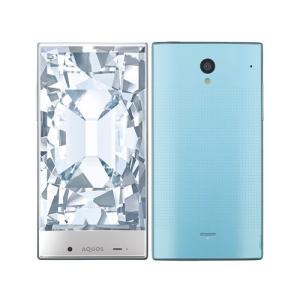 「新品 未使用品 白ロム」利用制限〇 SoftBank AQUOS CRYSTAL 305SH blue ブルー※赤ロム永久保証 [スマホ]|quality-shop