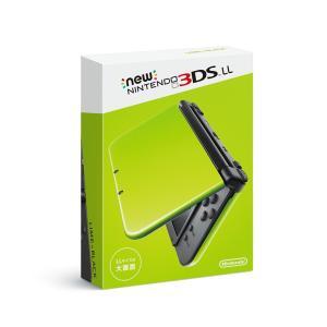 「新品 未使用品」Newニンテンドー3DS LL ライム×ブラック [任天堂][ゲーム機]|quality-shop