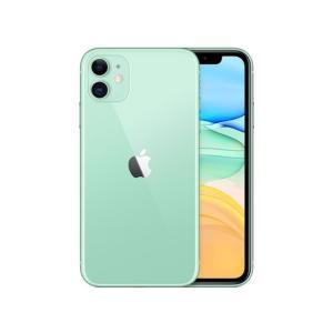 「新品 未使用品 白ロム」SIMフリー au iPhone11 64gb green グリ−ン ※赤...