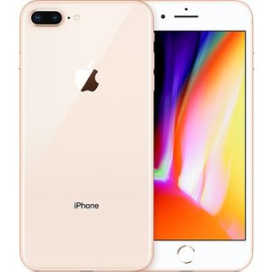 「新品 未使用品 白ロム」SIMフリー iPhone8 plus 64gb Gold ゴールド ※赤ロム永久保証 [au SIMロック解除][Apple/アップル][アイフォン][MQ9M2J/A]