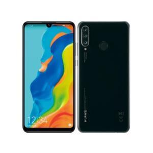 「新品 未使用 白ロム」SIMフリー au Huawei P30 lite Midnight Black HWV33 ※赤ロム保証「au simロック解除]「simfree]|quality-shop