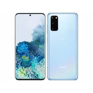 「新品 未使用品 白ロム」SIMフリー Galaxy S20 5G SCG01 Cloud Blue ※赤ロム保証 [Galaxy][auからSIMロック解除]|quality-shop