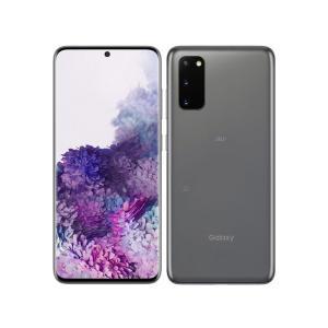 「新品 未使用品 白ロム」SIMフリー Galaxy S20 5G SCG01 Cosmic Gray ※赤ロム永久保証 [Galaxy][auからSIMロック解除]|quality-shop