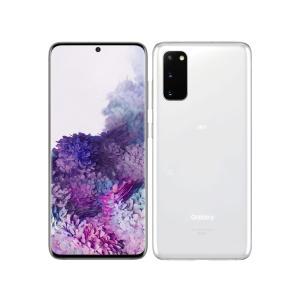 「新品 未使用品 白ロム」SIMフリー Au Galaxy S20 5G SCG01 Cloud White ※赤ロム保証 [Galaxy][auからSIMロック解除済]|quality-shop