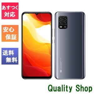 「新品 未使用 白ロム」SIMフリー XIAOMI Mi 10 Lite 5G XIG01 コズミック グレー ※赤ロム保証[au simロック解除][simfree][6GB/128GB]|quality-shop