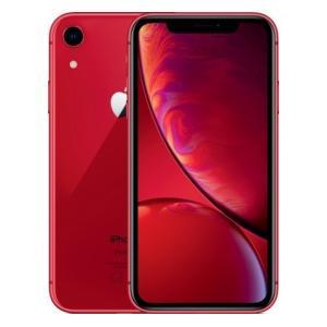 「新品 未使用 国内正規品」SIMフリー au iPhone XR 64GB RED レッド MT0...