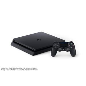 「新品 未使用」ソニー・インタラクティブエンタテインメント PlayStation 4 ジェット・ブラック 500GB (CUH-2000AB01)|quality-shop