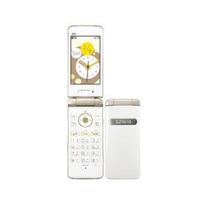 【新品 未使用】au GRATINA2 KYY10 White ホワイト [白ロム][携帯電話][折りたたみ][京セラ][ガラゲー]
