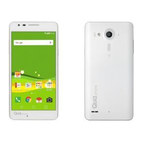 「新品 未使用品 白ロム」利用制限〇 au LGV33 Qua phone PX white ホワイト※赤ロム永久保証