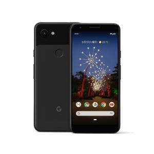 「新品 未使用品 白ロム」SIMフリー Google Pixel 3a XL 64gb Just Black ※赤ロム保証 [正規SIMロック解除済][google][G020D]|quality-shop