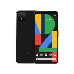 「新品 未使用品 白ロム」SIMフリー Google Pixel 4 64gb ブラック ※赤ロム保証 [正規 SIMロック解除][google]|quality-shop