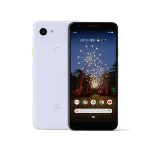 「新品 未使用品 白ロム」SIMフリー Google Pixel 3a XL 64gb purple-ish ※赤ロム保証[正規SIMロック解除済][google]|quality-shop