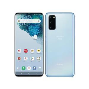 [新品・未使用品 ]白ロム SIMフリー Galaxy S20 5G SC-51A クラウド ブルー ※赤ロム保証[サムソン/Samsung][docomo SIMロック解除済]|quality-shop
